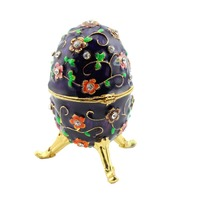 Faberge Egg Box China Supplier Buy Cheap Price Jewelry Box Ostrich Egg Shipping Free Russian Jewelry