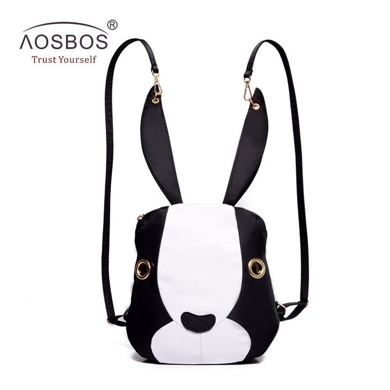 Fashion font b Women b font Nylon font b Backpacks b font Cute Rabbit Shoulder Bags