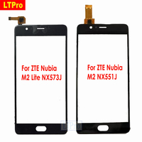 LTPro Black White New Touch Screen Sensor Digitizer For ZTE Nubia M2 Lite NX573J M2 NX551J
