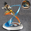 OW Over watch Action Figure Tracer with Light Update Version 26cm high PVC Statue no box (Chinese Version)