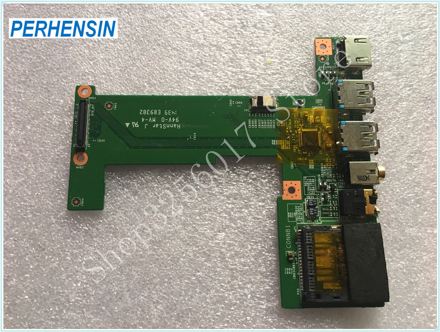 FOR MSI FOR GE70 MS-1759 Genuine HDMI Audio USB port print board MS-1759B laptop keyboard for msi ms 16ga ge640 ms 16g5 ge620 ms 1756 ge70 ms 16ga ge60 black us english