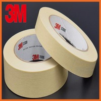 Masking Tape Crepe Paper Decorative Mask Car Spray Shield Adhesive Seal Tape Traceless Automobile spraying mask 70mmx164ft 3M221