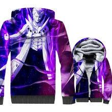 Naruto Uzumaki 3D Print Thick Fleece Warm Zip up Jacket