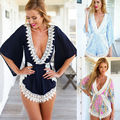 2017 Summer Sexy Women Ladies Clubwear V Neck Playsuit Bodycon Party Jumpsuit Romper Trousers Piece Shorts