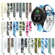 Replacement Silicone Bracelet Simple Fit Fashion for Garmin Fenix 5 plus Quick Release Sport Strap Watch Band