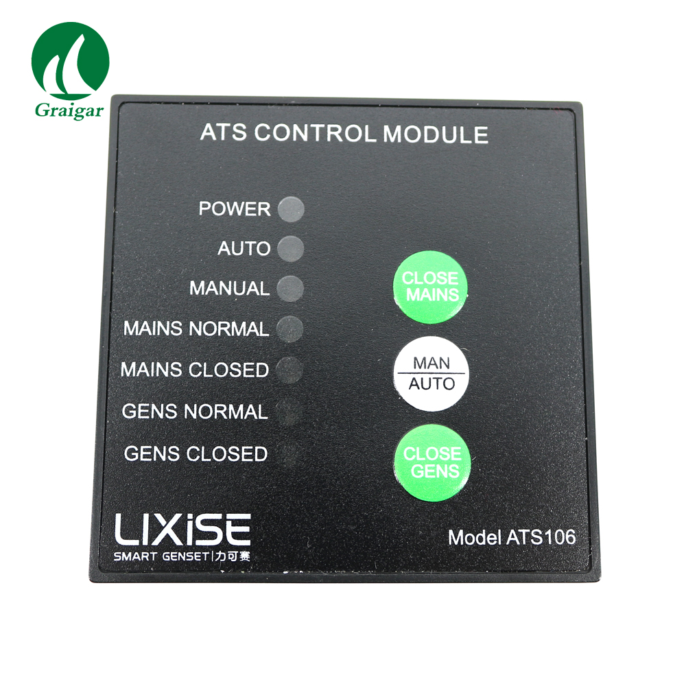 New ATS Control Module ATS106 genset control panel for diesel generator купить в Москве 2019