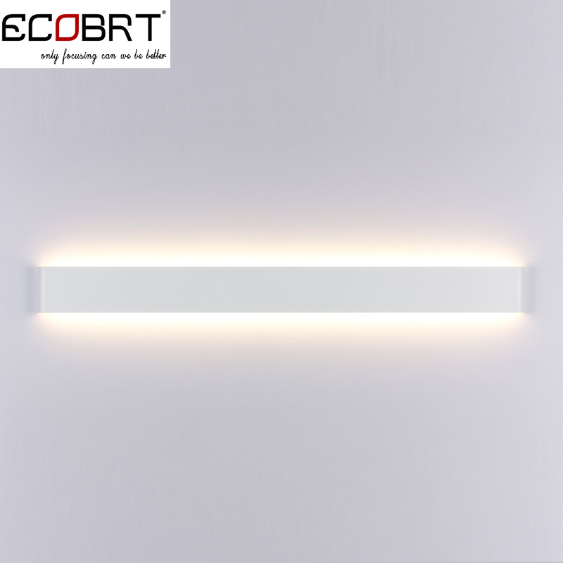 Modern style bedroom wall lamps 30w 91cm long white black color modern style bedroom wall lamps 30w 91cm long white black color led restroom bathroom wall lights decoration lighting 100 240v in led bulbs tubes from mozeypictures Images