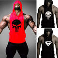 Skull ZYZZ Golds Bodybuilding Stringer Hoodies Stringer Hoodie Fitness Brand Tank Top Men Clothing Cotton Pullover Hoody