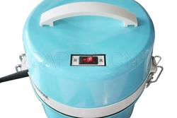 Vacuum Cleaner work with Capsule Polishing Machine
