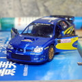 Brand New 1/36 Scale Car Model Toys Subaru Impreza WRC 2007 Racing Car Diecast Metal Pull Back Car Model Toy For Gift/Kids