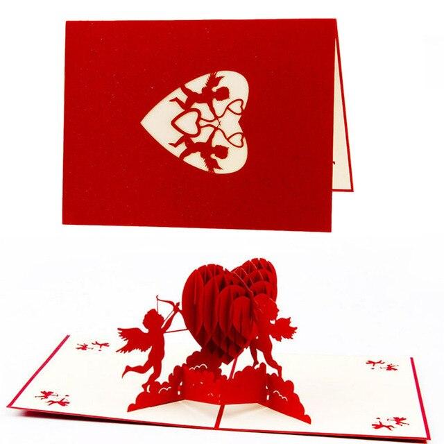 S Maison Nouvelle 3d Pop Up Cartes De Voeux D Anniversaire Gateau