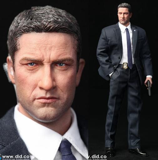 1/6 scale Super flexible figure US Secret Service Special Agent MARK London Has Fallen 12 action figure doll Collectible model