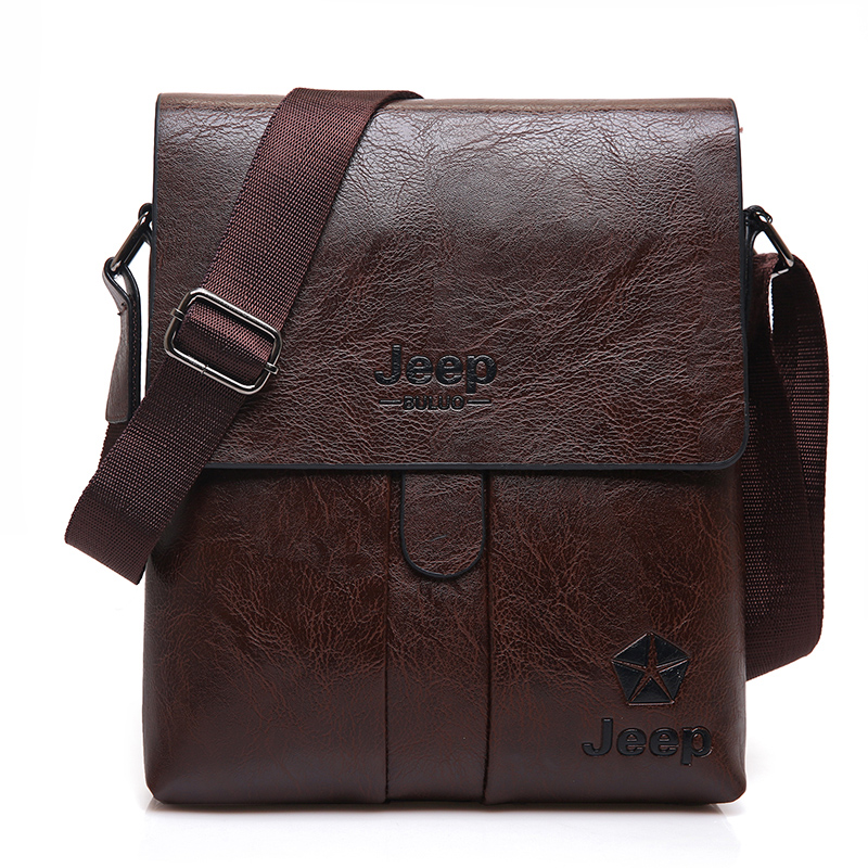 JEEP BULUO Brand Man Messenger Bag 2017 New Hot Sale High Quality Leather  Hobos Men Shoulder Bags Male Office Tote Bag 1301 on Aliexpress.com  645281db86d2d