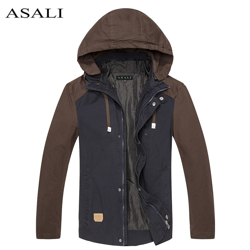 Military Jacket Men Casual Fashion Style Clothing Winter Jackets ...