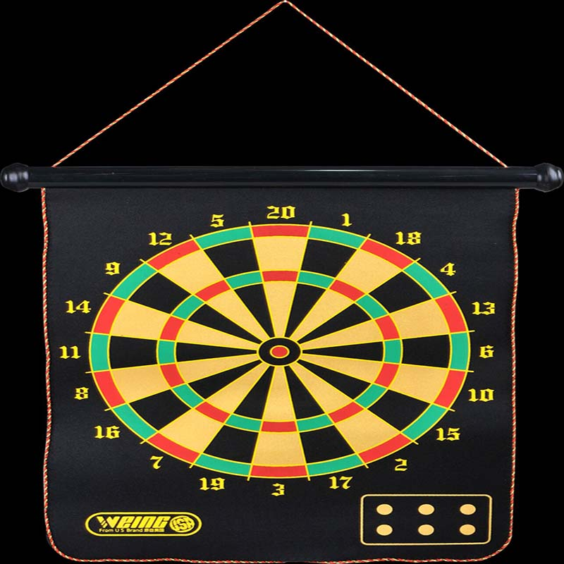 WEING NEW Magnetic shutter darts sport double target dart magnetic flocking dartboard board double thickening for wholesale