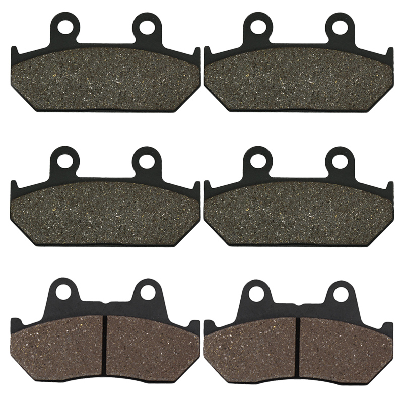 Cyleto Motorcycle Front and Rear Brake Pads for <font><b>HONDA</b></font> CBR 750 Superaero RC27 1987 <font><b>CBR1000F</b></font> CBR 1000F Hurricane 1987 1988 image