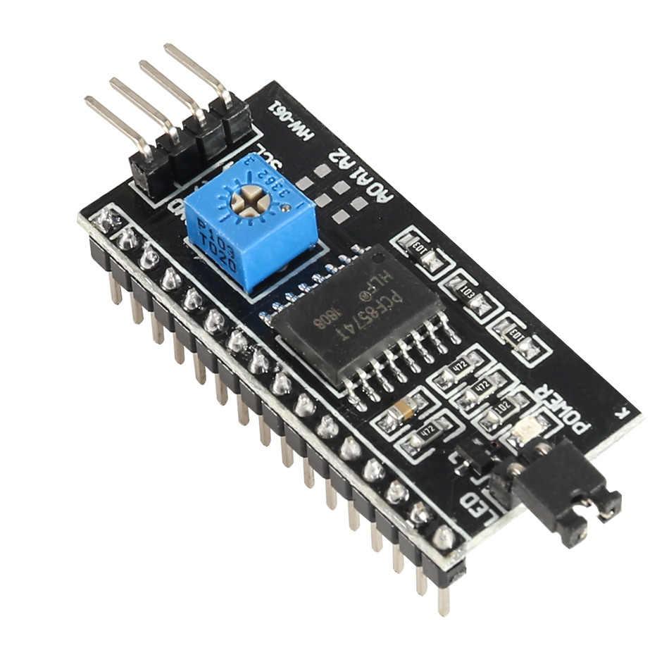 PCF8574 IIC I2C TWI SPI Port de carte d'interface série pour Arduno 1602 2004 LCD LCD1602 adaptateur plaque LCD adaptateur convertisseur Module