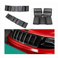2016 Latest Honeycomb Matte Mesh Front Grill Grille Inserts Cover Kit For 2014-2015 Jeep Grand Cherokee 7PC