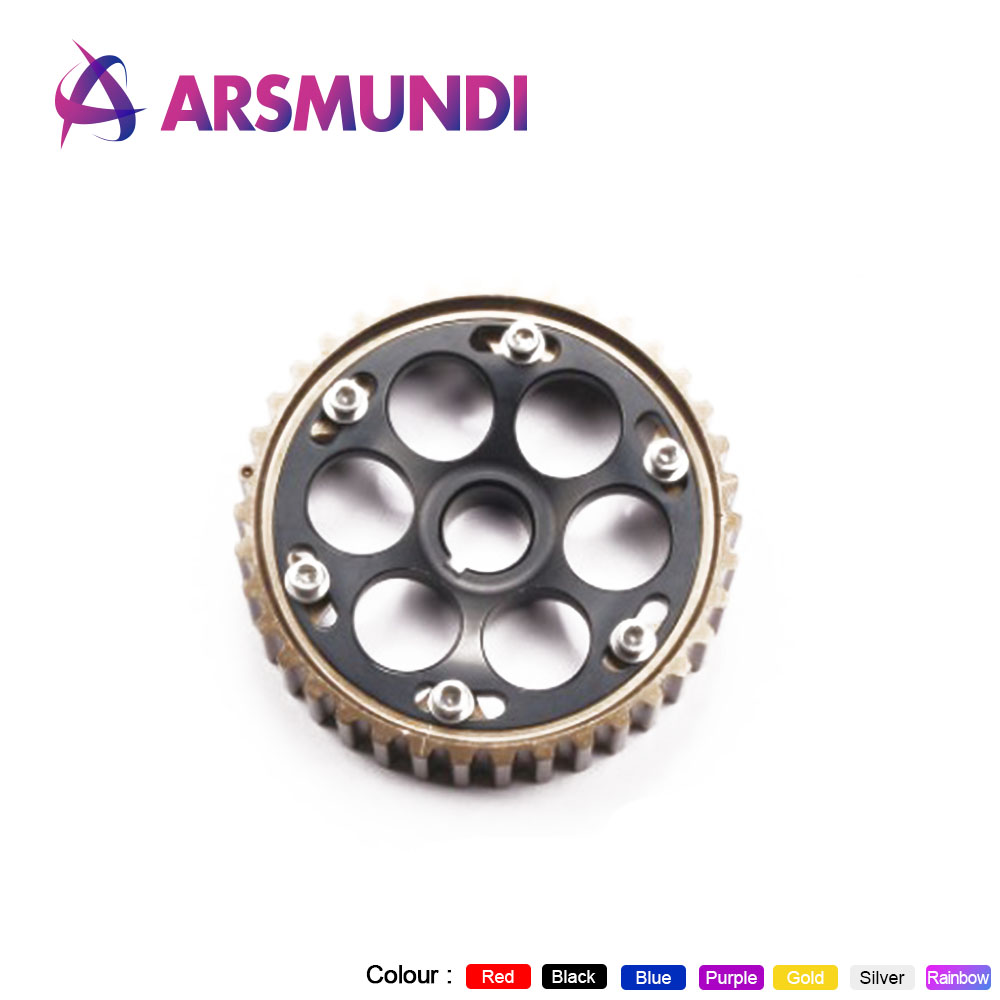 Adjustable Cam Gear Alloy Timing Gear FOR HONDA SOHC D15/D16 D-SERIES ENGINE CAM PULLEY PULLYS GEAR One Pcs