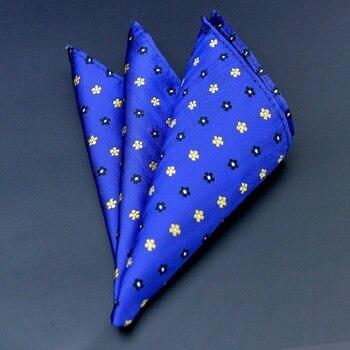 цена High Quality Hankerchief Scarves Vintage Hankies Floral print Men's Pocket Square Handkerchiefs 100% Cotton 24*24cm Hanky онлайн в 2017 году