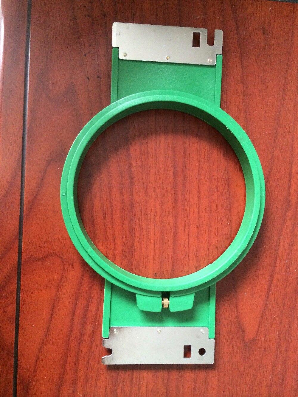 12ks VÝŠIVKY NÁHRADNÍ DÍLY Tajima ZELENÁ Obruče 150mm ROUND tvar Celková délka 270mm TAJIMA trubkový rám TAJIMA trubkový rám
