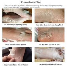 2Pair=4Pcs Baby Feet Peel Mask Remove Dead Skin Foot Mask for Legs Cream Exfoliating Mask Foot Care Socks for Pedicure Spa Socks