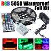 Led Strip Light 5050 RGB Tape Set Waterproof Ip65 300led 5m With 44key Remote Controller 12V