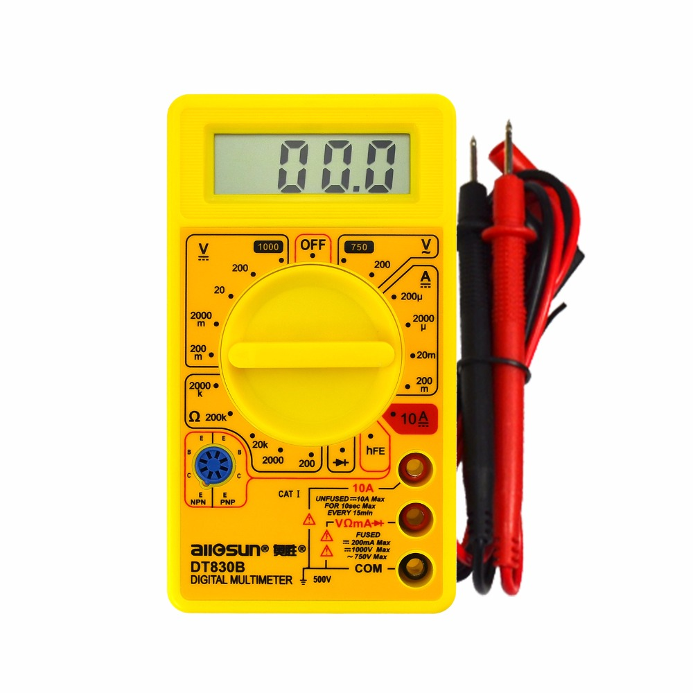LCD Digital Multimeter Electric Voltmeter Ammeter Ohm Tester AC/DC 750/1000V Amp Volt Ohm Tester Meter seven creations bubble wand анальная цепочка
