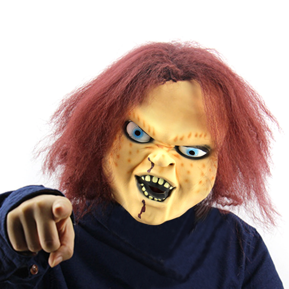Online Buy Wholesale scary realistic masks from China scary ...