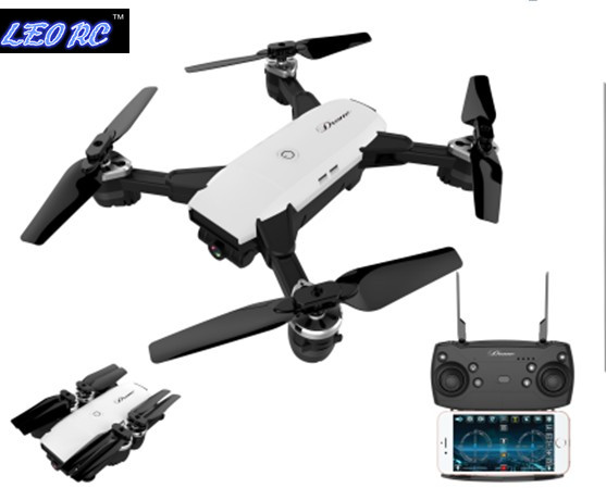 New copy Spark L19HW 2 4Ghz 4ch foldable FPV rc drone with 2MP wide angle wifi