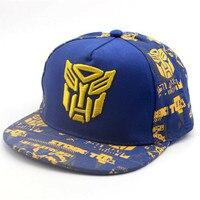 New Cool Iron Man Snapback Caps Kids Baseball Cap For Children Hip Hop Flat Hats Kids