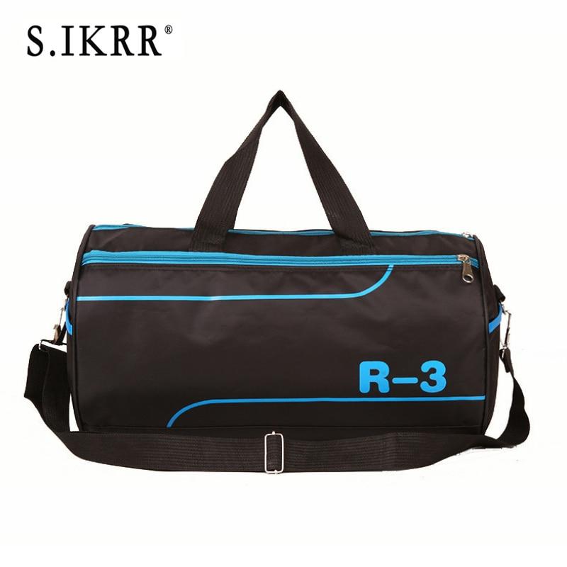 Weekend-Bag Travel-Bag Carry-On-Luggage Nylon Short-Distance S.IKRR Large-Capacity Unisex