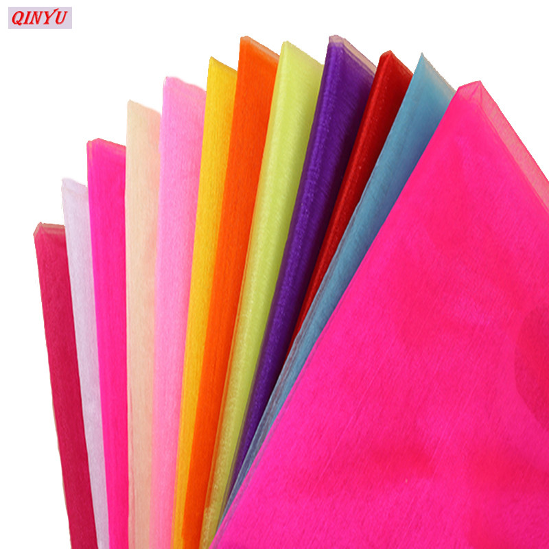 48cmx5m Tulle Roll Flower Wedding Dress Gauze Elements Flower Door Party  Decoration Spool Party Birthday Gift Wrap 5ZSH015 0a26e7becd00