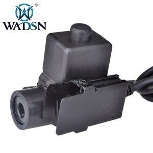 Image 5 - WADSN Airsoft หูฟัง U94 PTT สำหรับ KENWOOD Plug Walkie Talkie Baofeng UV 82 วิทยุอะแดปเตอร์ Push to Talk Softair ชุดหูฟัง WZ113