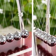 Новая горячая распродажа энергосберегающая модель шарики Ньютона яркий физический обучающий Балансирующий шар Металлический подарок