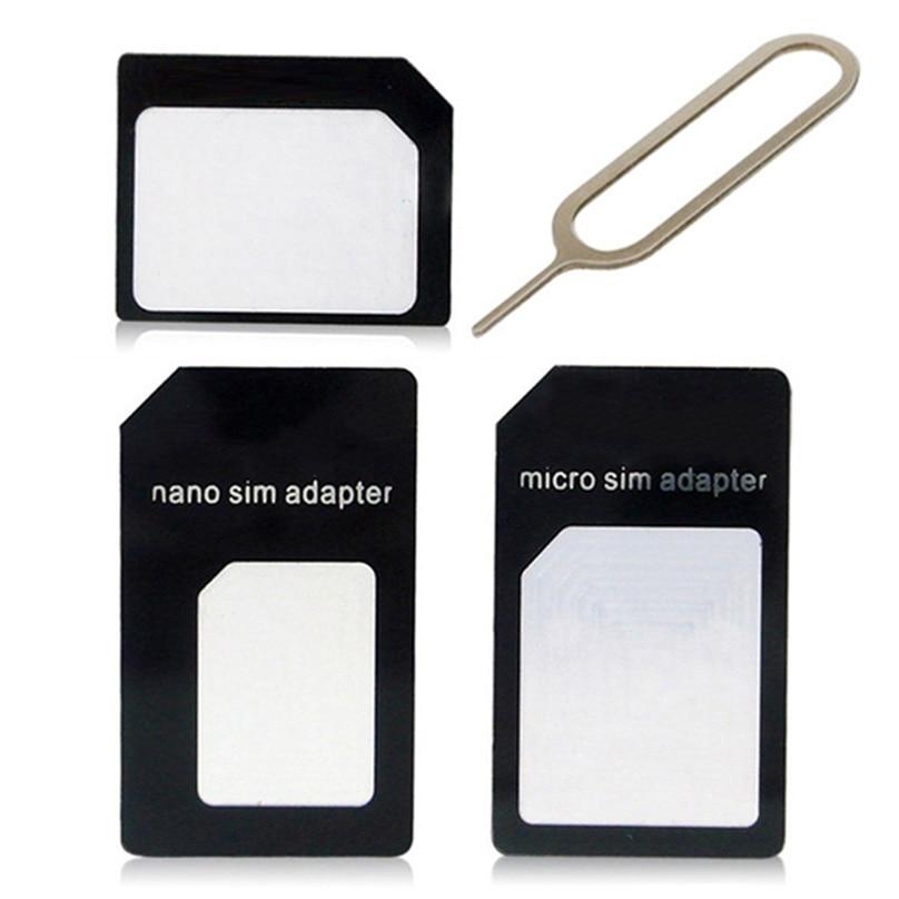 Sim Adapters for Lenovo ZUK Z1 (Z1221)/ZUK Z2/ZUK Z2 Plus/ZUK Z2 Pro Nano Micro Standard Sim Card Adapter abrasive Bar Card Pin