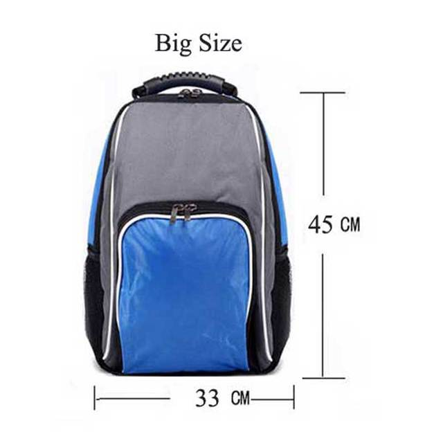 Large Capacity Thermal Insulated Cooler Bag Black Food Storage Bags Insulation Picnic Thermo Lunch Bag for Women Men
