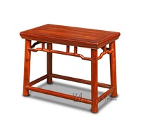 Chinese Classical Home Furniture Burma Rosewood Rectangular Stools Small Wooden Bench Burmare Graden Child Little Chair 4 foot