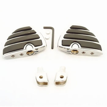 Motorcycle Pair Footpegs Footrest Mount For Honda GL1800 Suzuki Boulevard M50 Volusia 800 VL800 VL800Z Limited