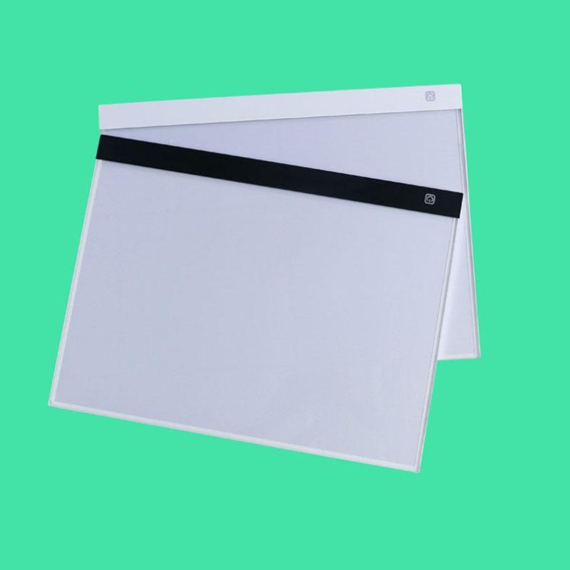 A3 pintura diamante puntada regulable Ultra delgado A3 luz LED Tablet Pad diamante bordado Cruz puntada costura mosaico herramientas-in Pintura de punto de cruz de diamantes from Hogar y Mascotas    3