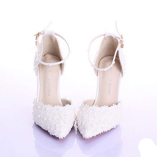 2033fc7f472aee placeholder 3 Inches High Heel Ivory Color Bridal Dress Shoes Women Party  Shoes for Wedding Prom Pumps