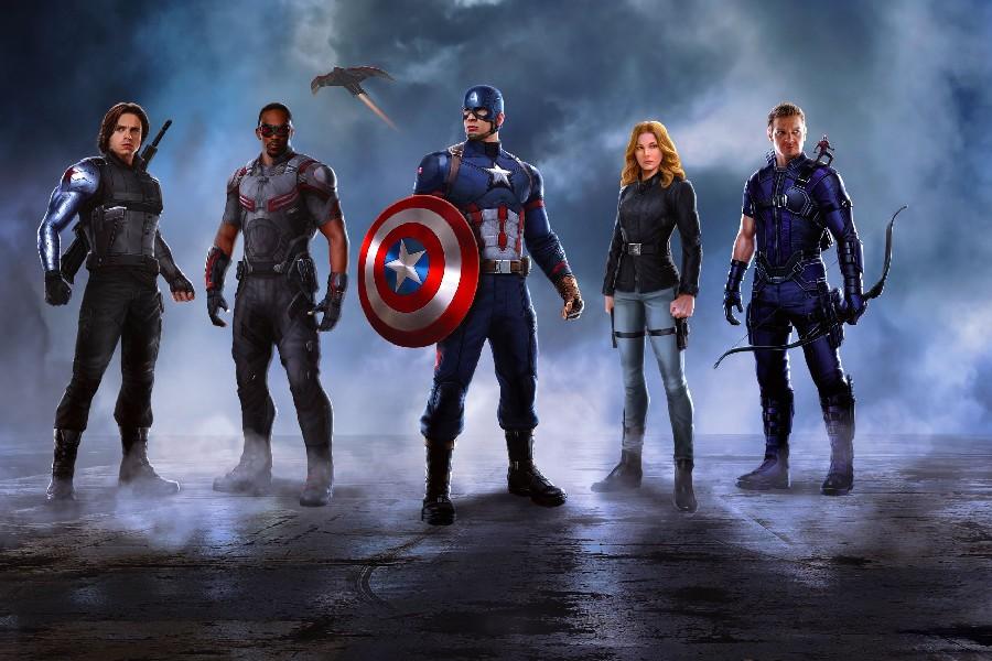 Winter Soldier Movie Art Silk Poster 12x18 24x36 Captain America