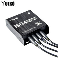 Guitar Effects Guitar pedal Power Supply ISO4 Power Pack ISOLATED OUTPUT High guality Guitar Accessories