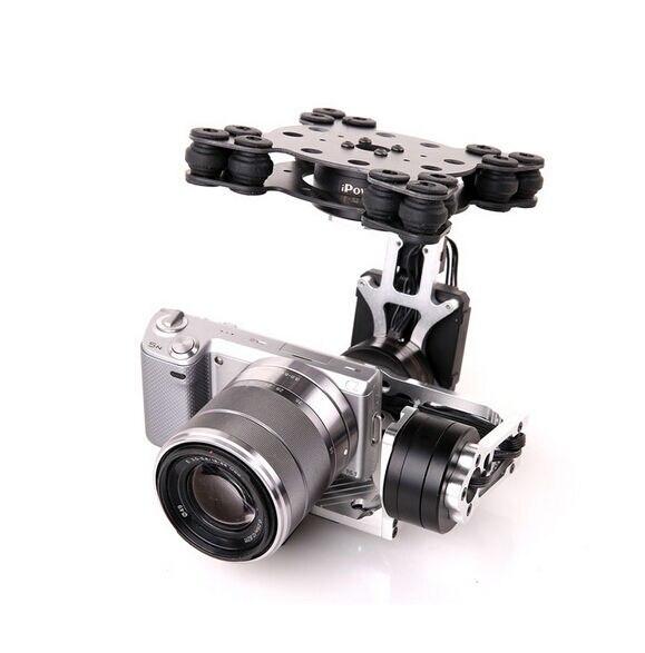 MOY 3 осевой бесщеточный беззеркальная камера Gimbal w/с бесколлекторным мотором и 32Bit Управление доска с видом от первого лица