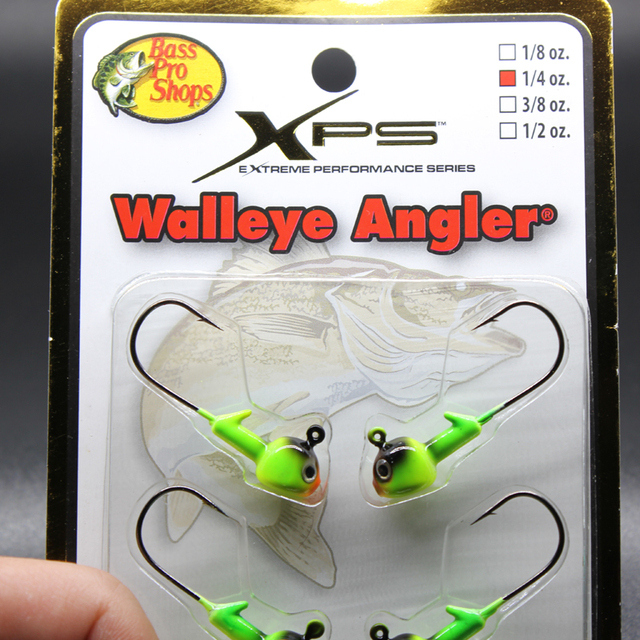 Hot Sale 6PC/Pack 1/4oz 7g Metal Jigging Heads For Freshwater Fishing; 2 Colors Available