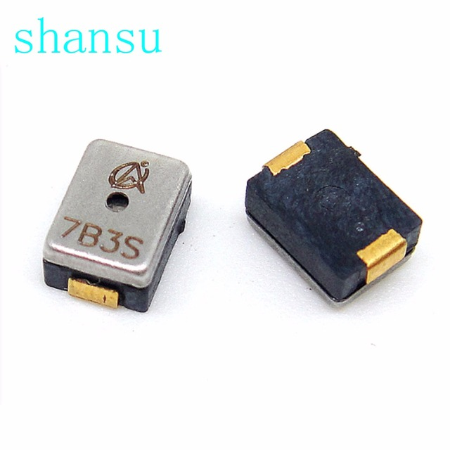 2731HZ  3x4.5x1.9mm Super small miniature AAC electromagnetic DET402-G-1 SMD Passive buzzer 3*4.5*1.9mm 7B7P  7B8D 7P3P