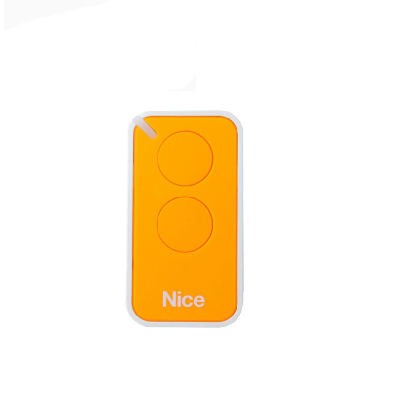 For NICE REA Nice INTI 2 Replacement rolling code remote key fob Yellow ColorFor NICE REA Nice INTI 2 Replacement rolling code remote key fob Yellow Color