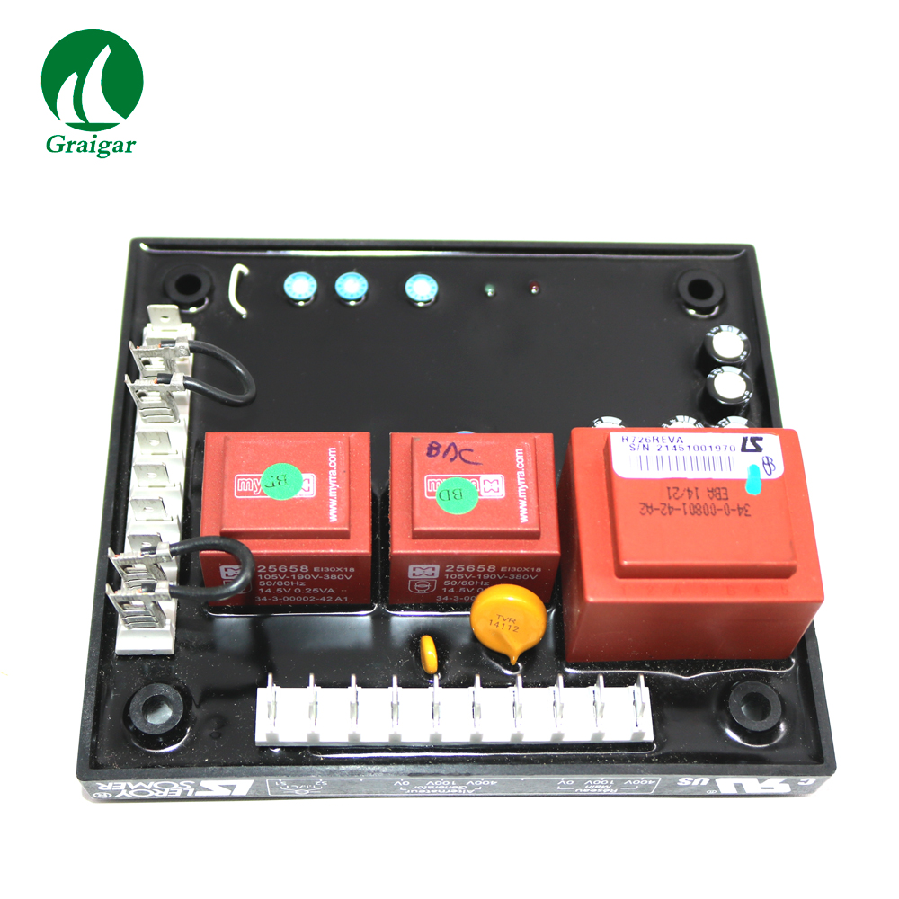 Original AVR R726 LS Generator Automatic Voltage Regulator with Power Factor Regulation feature
