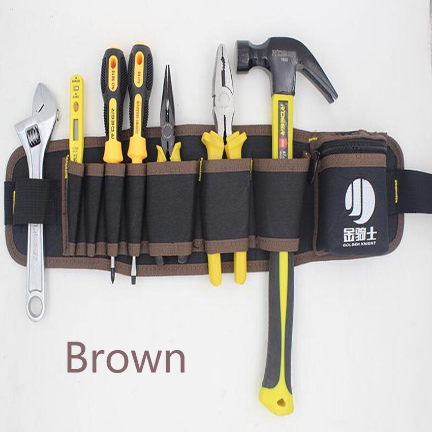 Kuummüük mitmevärvilised elektrikud tööriistavööde - Tööriistade hoiustamine - Foto 2