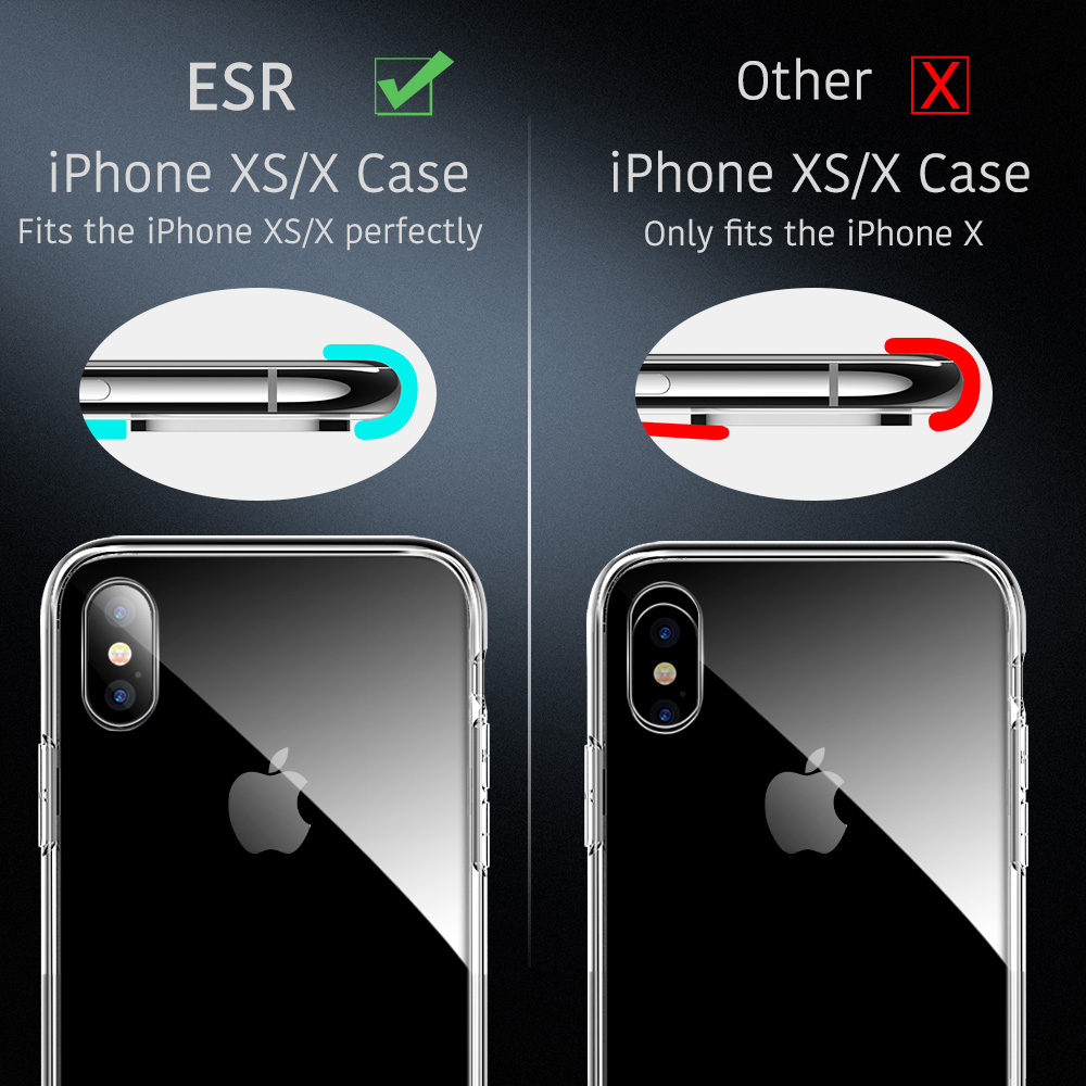 esr glass case for iphone xs
